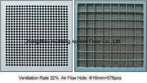 600*600mm Access Raised Air Flow Floor pictures & photos