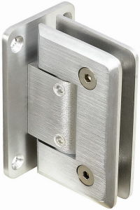 Adjustable Beveled Square Shower Hinge (SCSH-1101A)
