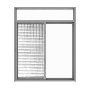 Building Window Scree Aluminum Irom Window Grill Design