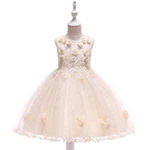 China 2019 New Design Flower Fashion Party Dress For Girls China Girls Party Dress And Infant Party Dress Price