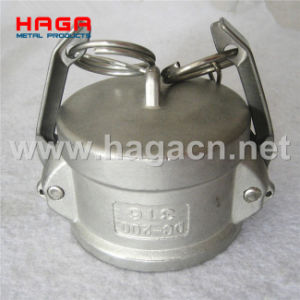 Stainless Steel Dust Cap Camlock Coupling in Type DC pictures & photos