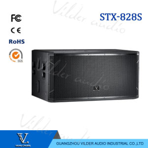 Stx-828s Strong Power Speaker Double 18′′ Woofer Subwoofer