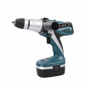Electric Nicad Cordless Drill with Side Handle (LY617-SC) pictures & photos