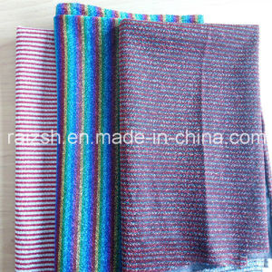Lurex Thread Metallic Yarn Weft Knitted Accessory Fabric