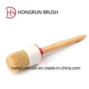 Wooden Handle Round Brush (HYC0581) pictures & photos