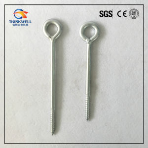Zinc Plated Fastener Welded Eye Bolt Eye Screw pictures & photos