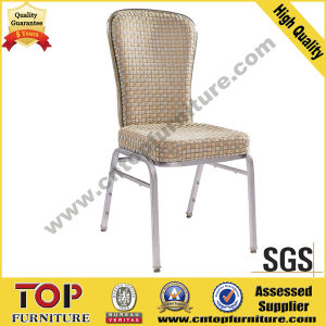Hotel Sway Aluminium Steel Banquet Dining Chair for 5 Star Hotel pictures & photos