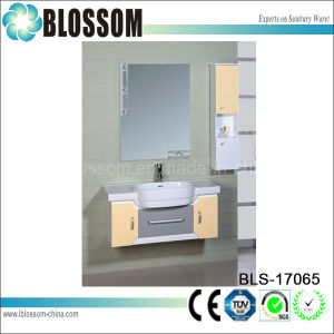 Factory Manufacture PVC Bathroom Mirror Cabinet Furniture (BLS-17065) pictures & photos