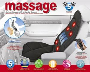 Vibrating massage cushion for car and home Using