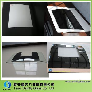 Curved Tempered Printing Glass for Home Appliance