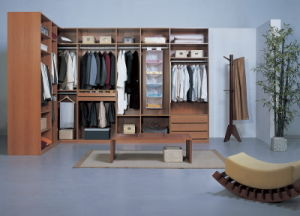 Laminated MDF Walk in Closet (#BF7) pictures & photos