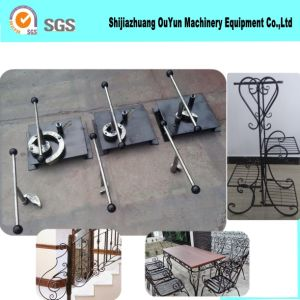 Manual Scroll Bending Machine Ornamental Iron Work Tool