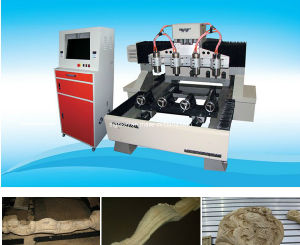 Professional 4 Axis CNC Woodworking Router (700*900*130mm)