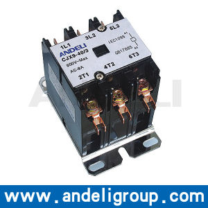 High Quality AC Contactor DC Operates AC Contactor (CJX9-2m-40-3) pictures & photos