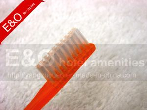 Cheap Short Handle PE Toothbrush for Prison pictures & photos