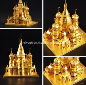 3D Metal Model -Saint Basil′s Cathedral pictures & photos