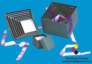 Cardboard Packaging Boxes with Lid (OEM-BX014) pictures & photos