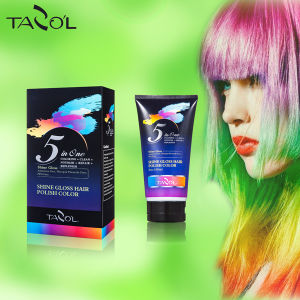 Shinny Polish Hair Color Cream pictures & photos
