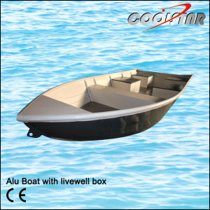 Painted Aluminum Boat With Livewell Box