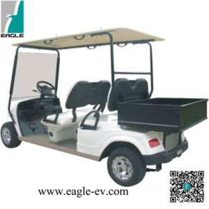 4 Seats Electric Golf Car, Battery Powered, Eg2048h, with Cargo Box, CE Approved pictures & photos