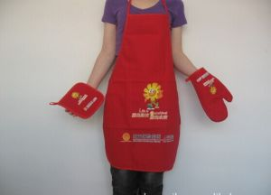 Customized Logo Promotion Printed Kitchen Cooking Aprons pictures & photos
