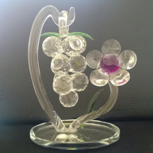 China Fashion Crystal Grapes For Home Decorations