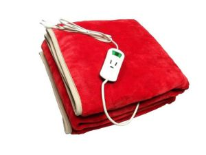 Factory Supply Electric Blanket with Flannel Material Heating Blanket Heating Pad pictures & photos