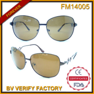 FM14005 New Products in China Metal Frames Sunglasses pictures & photos