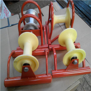 China Heavy Duty Snatch Block/ Hanging Cable Rollers/ Wire Cable ...