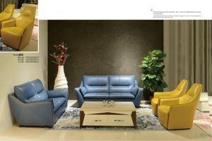 Living Room Genuine Leather Sofa A519 pictures & photos