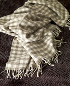 Natural Wool Blanket