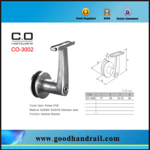 Stainless Steel Glass Handrail Bracket Co-3002 pictures & photos