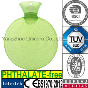 Round BS PVC Hot Water Bag
