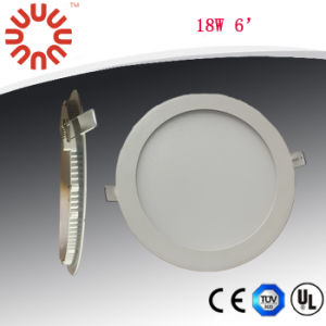 CE 18W LED Round Panel Lighting with 3 Years Warranty pictures & photos