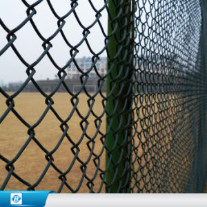 China Galvanized Chain Link Fence With Posts Installing