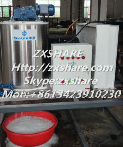 1ton Per Day Flake Ice Maker Machine for The Supermaket