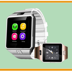 Logo Printed Sport Smart Bluetooth Watch with SIM Card and TF Card Slot