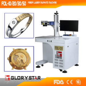 Metal Jewelry Fiber Laser Marking Machine pictures & photos