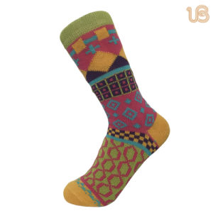 Women′s Colorful Winter Cotton Sock pictures & photos