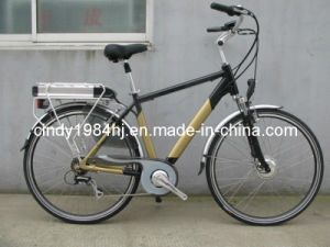 Man Style E Bike /Electric Bicycle /Electric Bike Acera-7 Speed and LiFePO4 36V12ah Lithium Battery with Distance 100km on Base of 1 Time Charged