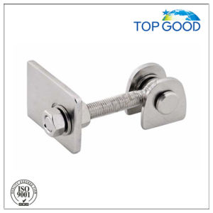 Stainless Steel Gate Hinge with Satin Finish