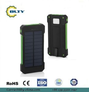 Waterproof Solar Charger Power Bank 10000mAh pictures & photos
