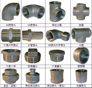 China Plumbing Parts China Tee Elbow Cross Valves