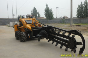 Mini Skid Loader Jl300 with Trencher pictures & photos