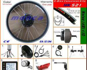 E-Bike Kits with Disc Brake, Front 250W Motor, LCD Display (MK521) pictures & photos