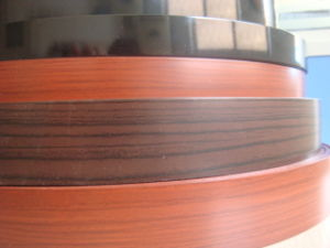 High Quality Wood Grain PVC Edge Banding in Iranian Market