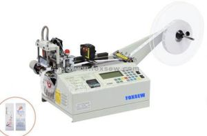 Hot Knife Label Cutting Machine with Sensor pictures & photos