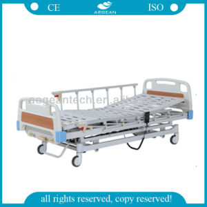 AG-By103 3-Function Motorized ICU Hospital Bed Patient Beds pictures & photos