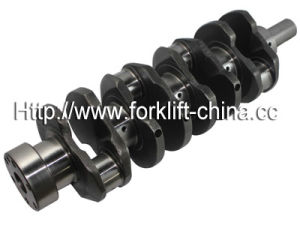 Forklift Parts 1z Crankshaft for Toyota