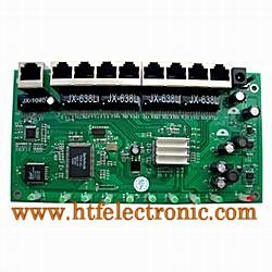 8P Broadband Router Module with 1P Wan